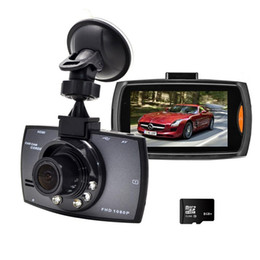 Wholesale Hdmi Recorders - Car DVR Camera Recorder Night Vision G30 HD 1080P 170 Degree Dashcam Vehicle Registration Date Recorder Tachograph without HDMI