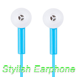 Argentina Elegante auricular estéreo para auriculares Ear-Auricular para iPod iPhone MP3 MP4 Smartphone blanco azul cheap stylish ear earphone headphone Suministro