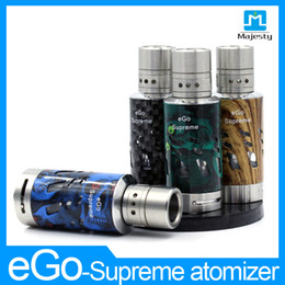 Wholesale E Cig Battery Pass - Ego kit 2200 mah e cig battery ,atomizer in ego one kit for Xmas promotion pass CE RoHS