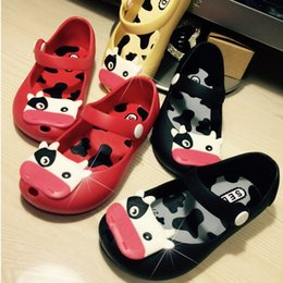 Wholesale Cheapest Leather Slippers - 2015 Summer Cheapest price High quality Breathable Children Shoes Hole Hole Sandals Boys Girls Slippers Kids Beach sandalias