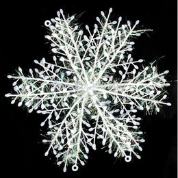 Wholesale Decoration Snowflake Window - L155 Free Shipping 60pcs lot Wall Windows Decor Christmas Snowflake Hanging Decorations 6cm