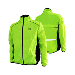 Wholesale Green Cycling Clothing - Wholesale Tour de France Cycling Jacket Men Windproof MTB Bike Running Jackets Jerseys Bicycle Cycle Wind Coat Clothing Chaqueta Ciclismo