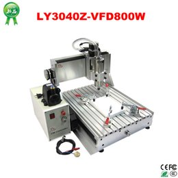 Wholesale 3d Cnc Wood Carving Machine - 2015 New CNC Series Free Shipping !!!LY3040Z-VFD800W cnc carving machine 3d wood metal cutter