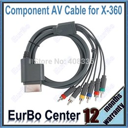 Wholesale Component Hd Video - Wholesale-HD RCA Component AV Audio Video Cable for Xbox 360