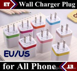 Wholesale Nexus Wall Charger - Metal Dual wall US EU plug Dual USB 2.1A AC Power Adapter Wall Charger Plug 2 port for mobile phone samsung note LG NEXUS tablet ipad JE7