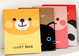 Wholesale Writing Pads Wholesale - 2015 Latest Cute Cartoon Memo Pad 30 Pcs Lot, Fashion Kawaii Stickers Writing Paper for Office Supplies Free Shipping