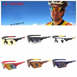Wholesale Cycling Riding Bicycle Sports Protective - Men Bicycle Sports Sunglasses Cycling Eyewear Cycling Riding Protective Goggle Cool Cycling Glasses UV400 Sunglasses A+++ 300 PCS YYA800