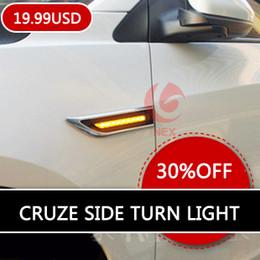 Wholesale Chevrolet Cruze Tail Lamp - hatchback sedan led turn light steering lamp LED Side Lights lamp for Chevrolet Cruze aveo 2010 2011 2012 2013 2014
