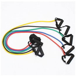 Wholesale Fitness Rubber Band - 1Pcs Fitness Resistance Bands Resistance Rope Exerciese Tubes Elastic Exercise Bands for Yoga Pilates Workout