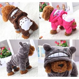 Wholesale Apparel Dog Costume - Cartoon Chinchilla Styling Dog Clothes Pet Jacket Coat Puppy Cat Hoodie Costumes Apparel Winter