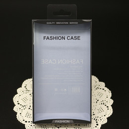 Wholesale Empty Leather Box - Empty Retail Package Plastic Box Packaging For iPhone Samsung Galaxy Mobile Phone Hard Leather Case