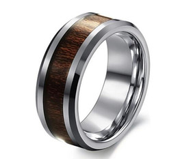 Wholesale Cheap Titanium Wedding Bands - Tungsten gold ring Cheap Price Jewelry USA Brazil Russia Hot Sales His Her 8MM Dragon Tungsten Ring Mens Wedding Band