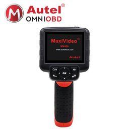 "Wholesale Inspection Camera System - 2018 Autel Maxivideo MV400 Digital Inspection Diagnostic Videoscope Camera Boroscope Endoscope 8.5mm Diameter Imager Head 3.5"" LCD"