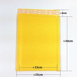 2019 мини мешочки Оптовая продажа-25x30cm большой Крафт пузырь почтовики мягкие конверты многофункциональный упаковочный материал сумка пузырь почтовая сумка