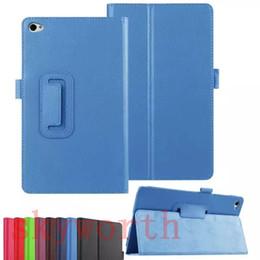 Wholesale Huawei Mediapad Case Inch - Folio Flip PU Leather Stand Case Cover Holder for Huawei MediaPad M2 T1 8.0 INCH S8-701U