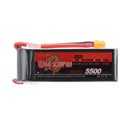 Wholesale Scorpion Helicopter - Wild Scorpion 5500mAh 70C LiPo Battery 14.8V 4S with XT60 Plug for RC Car Airplane Helicopter Boat order<$18no track