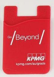 силиконовые прокладки для держателей телефонов OEM 3M липкий бумажник стенд оптовые силиконовые самоклеющиеся карты карманные крышки кредитный кошелек смарт от