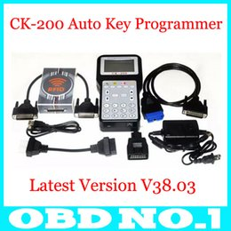 Wholesale New Ford Models - 2015 New Arrival V38.03 CK-200 CK200 Auto Key Programmer Newest Generation CK200 Key Programmer CK 200 Add Models Than CK100