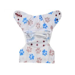 Wholesale Alva Washable - Alva baby Double Gussets Diaper Reusable and Washable Diaper Cover 10pcs