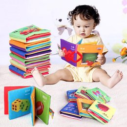 Wholesale Soft Cloth Books For Infants - Baby Toy Infant Sun Cloth Book Toys Doll Early Development Books Toy Learning & Education For 0-3Y Soft Unfolding Activity Books