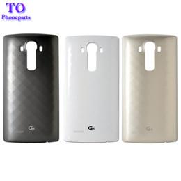 Porte nfc en Ligne-Pour LG G4 Couvercle de boîtier arrière, Couvercle de boîtier de batterie de remplacement pour porte arrière avec NFC