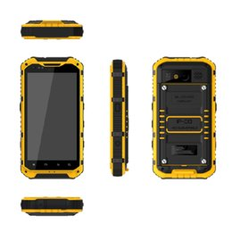 Wholesale Android Quad Core Gorilla - 2015 Free shipping original outdoor phone Quad Core Android Gorilla glass A9 IP68 rugged Waterproof phone Senior shockproof 3G GPS