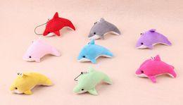 animal de golfinho Desconto Novo Dolphin Celular Straps / Keychain Bichos de pelúcia Miúdo Brinquedos de Casamento jóias presente de Aniversário