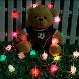 AC110 220V Led Fairy Light 10m 100 Led Love Hearted Shaped String Light  Decoration For Wedding Decoration Christmas Xmas