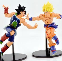 Figuras de ação do filho goku on-line-Quente! NOVA 1 pcs 23 cm dragon ball Kakarotto Son Goku Dano de batalha Super Saiyajin PVC Action Figure brinquedos bonecas