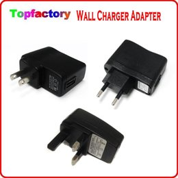 Wholesale Uk Ego T Plugs - eGo USB AC Power Wall plug Charger for Electronic Cigarette US UK EU AU version Wall Charger Adapter for Ego t vv ego k evod battery DHL