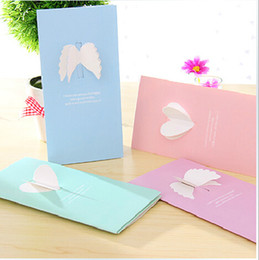 Wholesale Wholesale Green Greeting Cards - Originality Universal Wedding Greeting cards new year Christmas Gifts Birthday Best Wishes Invitation Card including envelope