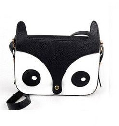 Wholesale Fox Handbags - Hot Womens Stylish Owl Fox School Tote Handbag Retro Hobo Shoulder Bag Messenger Handbags dropship Free Shipping Wholesale