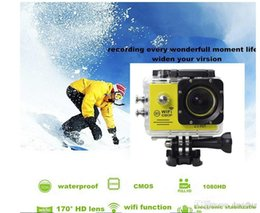 Wholesale Wifi Camera Sd Recorder - 2015 model Action Camera SJ7000 Wifi With SD card 2.0 LTPS LED Sports extreme mini cam recorder marine diving 1080P HD DV free shipping DHL