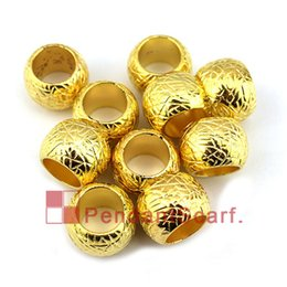 Wholesale Golden Plastic Plates Wholesale - New Fashion DIY Necklace Jewelry Scarf Pendant Golden Plated Plastic CCB Pendant Scarf Texture Beads Accessories, Free Shipping, AC0039C