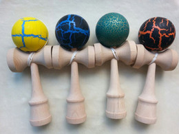 Wholesale Kendama Strings - 130pcs jade sword strings professional japan japanese toy wholesale 25 * 8cm cm crack jumbo KENDAMA ball Leisure Sports wooden game toy
