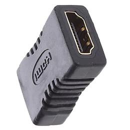 Wholesale gold extender - V1.4 HDMI EXTENDER FEMALE TO FEMALE COUPLER ADAPTER JOINER Converter CONNECTOR Adapter 1080P 2000pcs lot