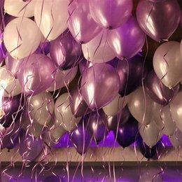 pa mischen Rabatt Q001 Mischfarbe Auftrag 100 teile / los 120g Hot Fashion Hochzeit Ehe Zimmer Dekorative Bögen Arrangiert Geburtstag Party Ballons