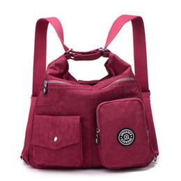 Wholesale Mini Sling Bags - JINQIAOER Women Shoulder Bags Waterproof Nylon Lady Sling Messenger Bag Female Crossbody Bags For Women Handbag