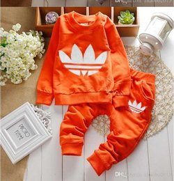 Wholesale merry christmas baby - Set for Newborns 2016 Pure cotton baby clothes Coat + pants Baby Clothing Merry Christmas