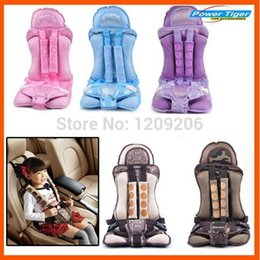 Wholesale Portable Booster Seats - Portable Baby Kids Infant Children Car Safety Booster Seat Cover Cushion Multi-Function chair Auto Harness Carrier