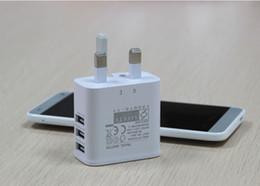 2019 5v 3a ladegerät adapter 5V 3A 3 Ports Micro USB UK Stecker AC Reiseladegerät Netzstecker Adapter für Samsung iPhone iPad Nokia HTC rabatt 5v 3a ladegerät adapter