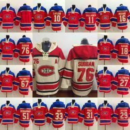 Wholesale Price K - 76 P K Subban Montreal Canadiens Jersey 31 Price 67 Pacioretty 11 Gallagher 27 Galchenyuk 18 Savard 29 Dryden Hoodies Jerseys Sweatshirts