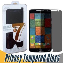 Wholesale Cover Shields - For Sony Z5 Privacy Tempered Glass Screen Protector Anti-Spy Film Screen Guard Cover Shield For Sony Z5P Z1 Z2 Z3 Z4 Lenovo K5