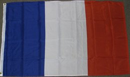 Wholesale france country - FRANCE FLAG 3 City Country banner Flag Custom Football Hockey Baseball any Team House Divided Flag
