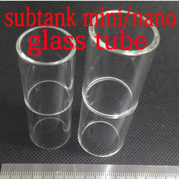 Pyrex di sostituzione per kanger online-Sostituzione del vetro Pyrex per Subtainer Kanger per Kanger Subtank Sostituzione del filtro per mini vetro Nano Plus Geninue Kanger Subtank