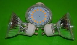 Wholesale High Ra - High Quality Bridgelux SMD2835 15PCS LEDS 4W GU10 Spotlights Bulbs 220V Energy Saving GU10 LED Lights 230V High Ra 80 Free Shipping
