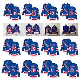 Wholesale Red Ads - 2018 AD NY New York Rangers 27 Ryan McDonagh Lundqvist Vesey 36 Zuccarello Gretzky Kreider Buchnevich Zibanejad Skjei Miller Hockey Jersey