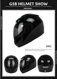 Wholesale Gsb Helmets Motorcycle - Motorcycle helmet full helmet winter helmet GSB-317 ran helmet winter helmet men and women 086
