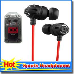 Wholesale Ear Phone Bags - HA-FX1X Xtreme Xplosives Headphones In Ear Music Earphones Earbuds With Bag Deep Bass headphone For Phone Mp3 Mp4