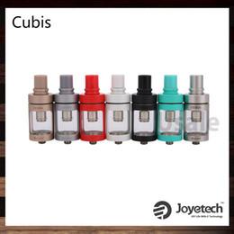 Wholesale Cup Tank - Joyetech Cubis Atomizer 3.5ml Cup Design No-Spill Cubis Sub ohm Tank with Detachable Airflow Control SS316 Mode 100% Original